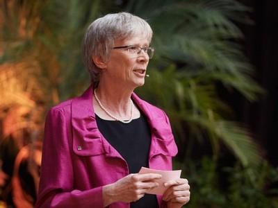 Prorektorin für Studium und Lehre, unterstrich, dass das Erreichen der Nachhaltigkeitsziele im Interesse aller Länder und Altersgruppen liegt. (c) Foto: Volker Lannert/Uni Bonn